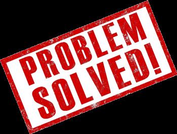 Problem Solved Green Road Sign — Stock Photo © Feverpitch ... |Problem Solved Sign